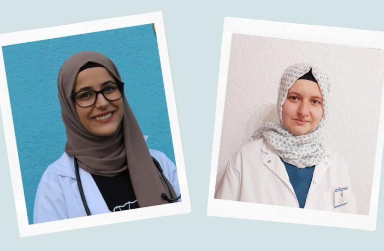 Njihuni me dy mjeket e ardhshme, të cilat vullnetarisht po kontribojnë për vaksinimin e rajonit të Pollogut