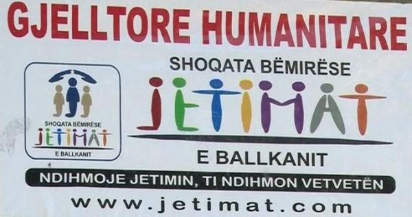 ndihma për jetimat e ballkanit.